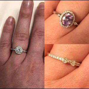 Jewelry - Bundled Lot Of Three Rings Size 8-9